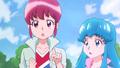 Megumi percatandose que hay mas gente que necesita de su ayuda