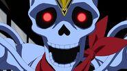 Nakewameke esqueleto