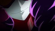 Colmillo Negro sonriendo de forma malvada