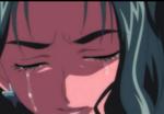 Dark Mint crying