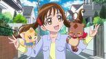 Gureru and Enen become Ayumi's partners