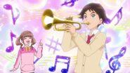 HGPC29 Yuto plays the trumpet