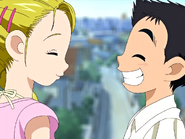 Hikari daiki deciden ir juntos a algun lugar