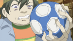 YPC513 Gamao squishes Rin's ball