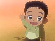 Daiki de pequeño