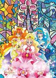 Go! Princess Pretty Cure Flora, Mermaid and Twinkle tapestry