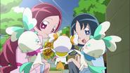 Tsubomi y Erika le irán a preguntar a Itsuki si tuvo sueños acerca de Árbol Corazón