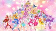 Cameo de las primeras 50 Pretty Cure en Miracle Leap