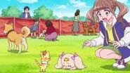 Hinata encuentra a Latte enferma