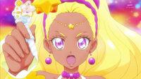 STPC17 Soleil holding the Virgo Princess Star Color Pen