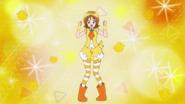 Yuko vestida de pollito