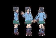 Chiyu School Uniform profile Toei