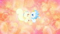 KKPCALM35-Crystal animals happy