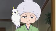 Mitsuya-san y su loro
