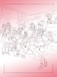 Kamikita GPPC Twitter Kirara group sketch