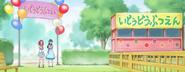 HuPC03.12-Las chicas llegan al Zoologico ambulante