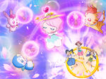 Miracle Leap Visual with Miraclun summoning Miracle Lights