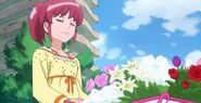 Megumi como florista