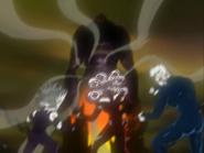 Rey haaku intenta tragar semillas