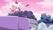 HuPC02.69-Yell tropieza al tratar de atacar al Oshimaida