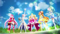 Kanata summoning the Royal Key's power