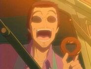 Kaoru dando la bienvenida