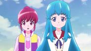 Megumi preguntando por los padres de Hime