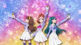 Miracle Go! Princess Pretty Cure About to transform