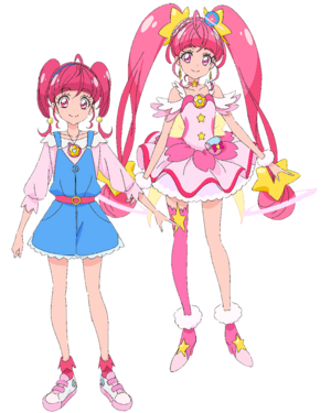 Hikaru Hoshina y Cure Star.png