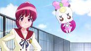 Megumi y Ribbon diciendole a Hime que de lo mejor de ella