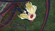 Mephisto salta para que Aphrodite pudiera ser liberada