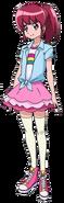 Megumi con su atuendo de verano