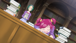 YPC515 Nozomi asleep at the library