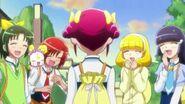 Las chicas recordando las cosas que le sucedieron a Miyuki