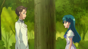 Minami confronting Kimimaro about his discussion