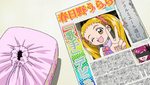 YPC521 Urara's singing debut in the school newspaper