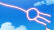 Kotoha hace una escoba
