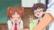 HuPC02.2-Junna y Aki creen que las Pretty Cures son maravillosas