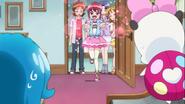 Megumi con feliciitis