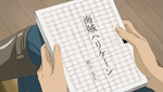 YPC516 Nuts with Komachi's manuscript