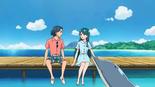 Minami with Wataru and Tina