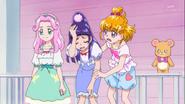 Riko al ver que Kotoha es mejor en magia