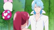 Megumile agracede a Blue
