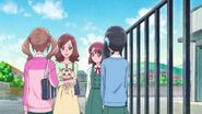 Yasuko pide a las chicas que cuiden de Nodoka