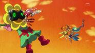 31. Scarlet luchando contra el Zetsuborg