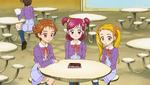Rin and Nozomi and Urara talking
