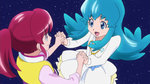 HCPC OP - Megumi and Hime holding hands