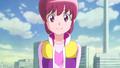 Megumi le contesta porque su madre le dijo que ver sonreir a los demas es lo mejor del mundo