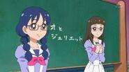 10. Riko esperando la respuesta de Haruka