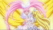 Crescendo Cure Melody aparece
